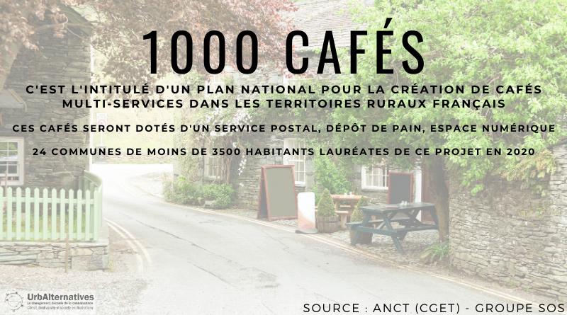 Le Plan 1000 CAFÉS pour sauver les campagnes