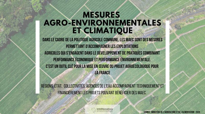 Les Mesures Agro-Environnementales et Climatique (MAEC)