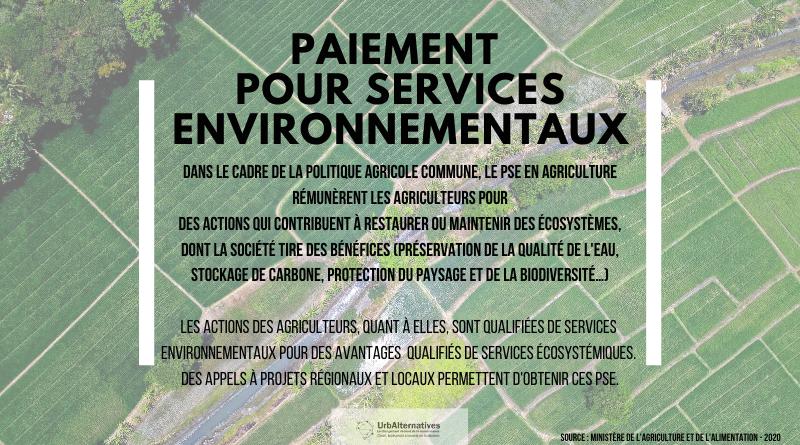 Le Paiement pour Services Environnementaux (PSE)